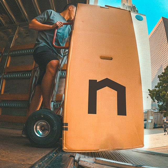 %2fnext moving company apartment movers picking up moving supplies on the dolly inside the moving truck 1x1 640x640 2